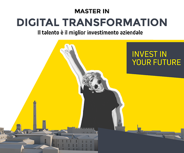 Master Digital Transformation Immagine IN EVIDENZA